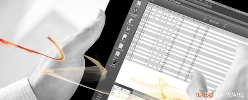 Tensosoftware voor uw tijdregistratie, urenregistratie en toegangscontrole: Smart Time PRO